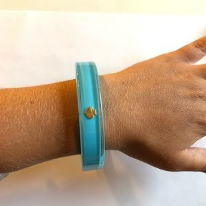 Kate Spade Robins Egg Blue Enamel Bangle